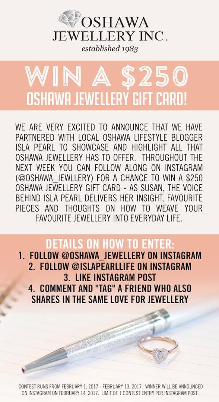 Oshawa Jewellery Contest