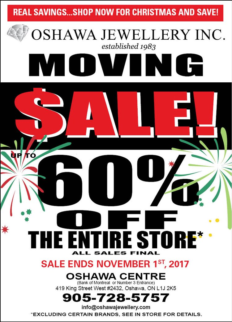 Moving Sale Ending Soon!